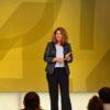 Anja-Dorothee Schacht beim Speaker Slam in Wien zum Thema Marke & Design