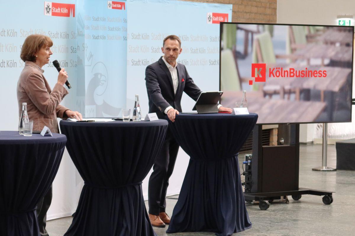 Henriete Reker und Dr Manfred Janssen