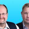 """Martin Müller (r.) und Klaus Offermann (l.) unterstützen in der """"Mister Matching Community"""" KMUs, Freiberufler und Selbständige"""