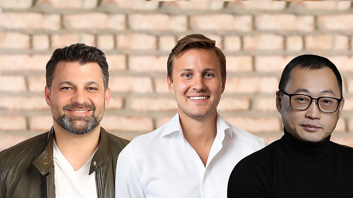 Rico Fernando, Jakob Feigl, Vladimir Kim
