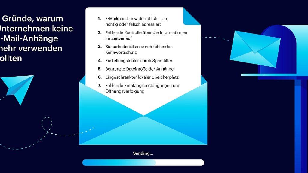 7 Gründe, warum Unternehmen keine E-Mail-Anhänge mehr verwenden sollten
