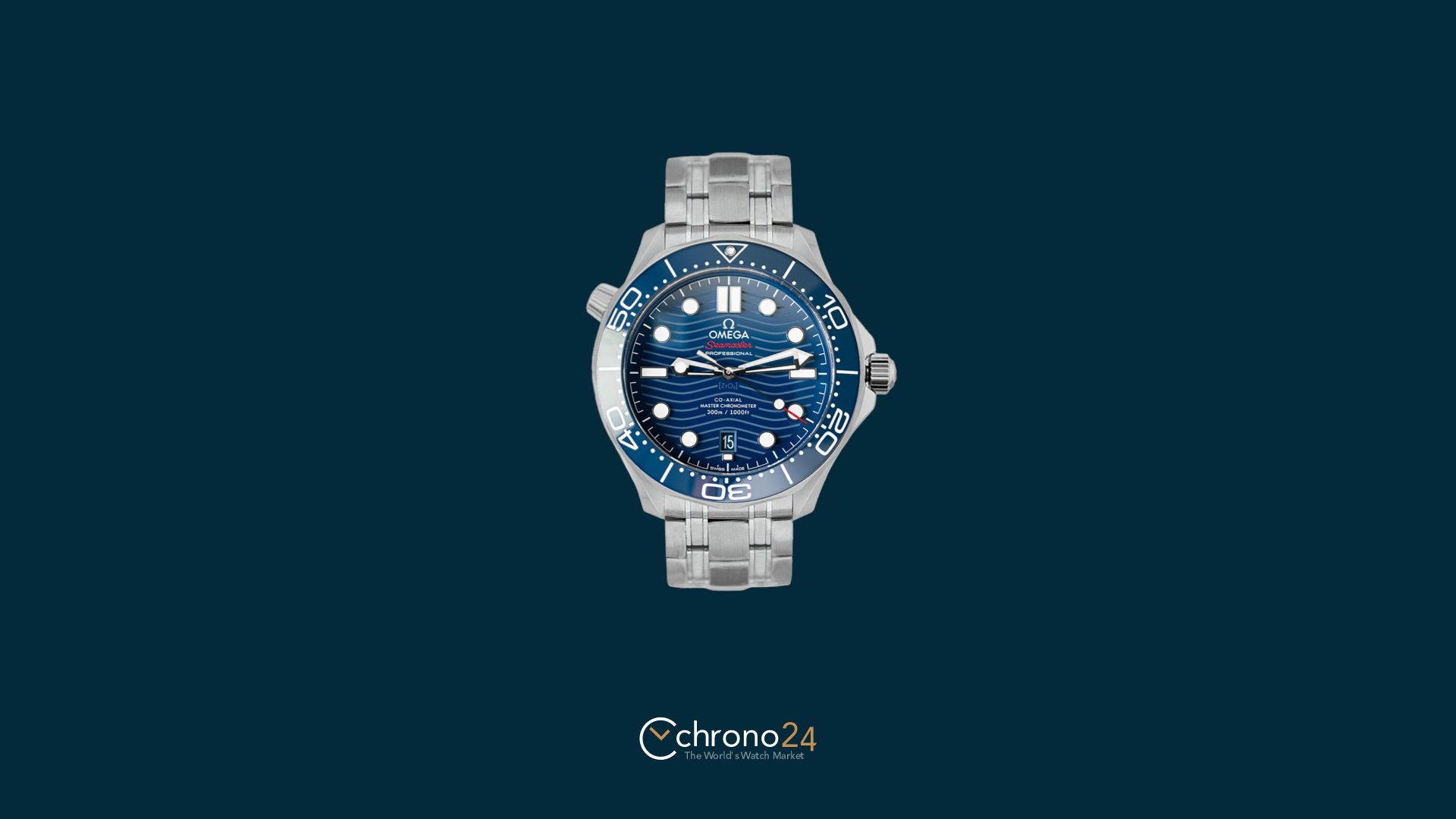 Omega Seamaster Diver 300M CoAxial Casino Royale