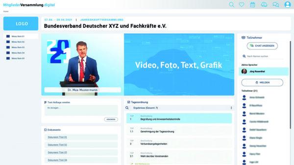 link instinct präsentiert Plattform für digitale Mitgliederversammlungen