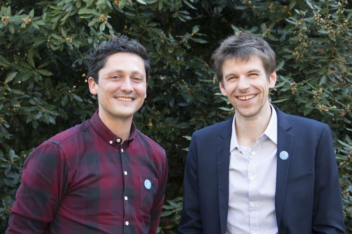 Die Yousign-Gründer Luc Pallavidino und Antoine Louiset – ihre elektronische Signatur verhilft Personalabteilungen zu Effizienzgewinnen