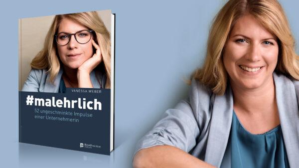 """Vanessa Weber veröffentlicht ihr Buch """"#malehrlich"""""""