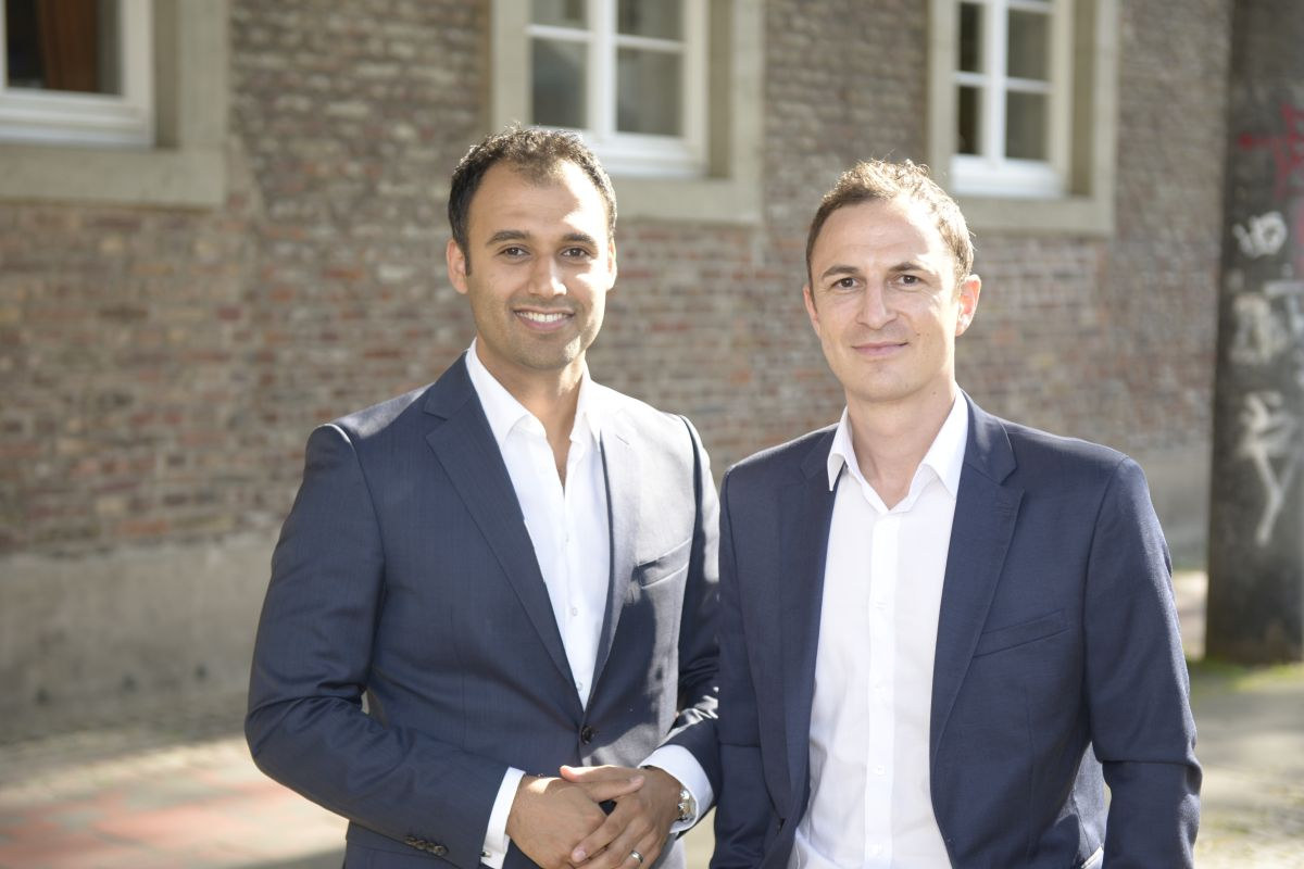 Die Gründer von SCALUE Samir Kharkan und Thomas Teichmann